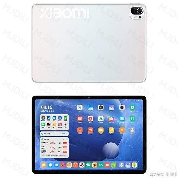 Предварительные рендеры предстоящей новинки Xiaomi Mi Pad 5