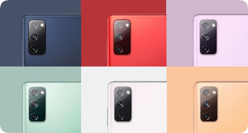 Смартфон Samsung Galaxy S20FE 3