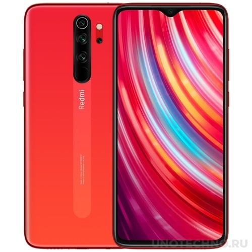 Смартфон Xiaomi Redmi Note 8 Pro 6/64Gb Orange (Оранжевый) EAC