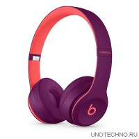 Наушники Beats Solo3 Wireless Headphones Pop Magenta