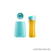 Блендер Ocooker Portable Cooking Machine Youth version blue