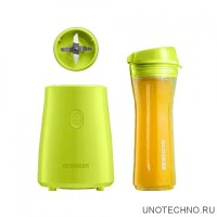 Блендер Ocooker Portable Cooking Machine Youth version green