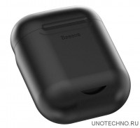 Чехол Baseus Case Wireless Charger for AirPods (Black) WIAPPOD-01